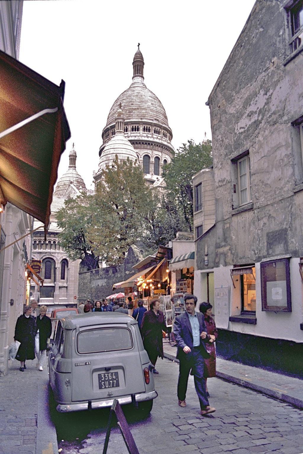 Place du Tertre & Sacre-Coeur, Paris