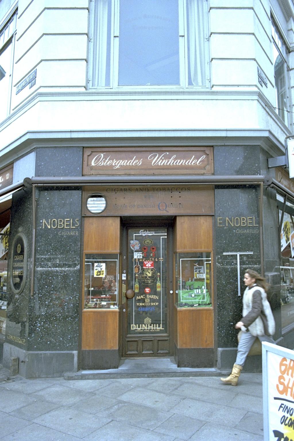 Østergades Vinhandel, København
