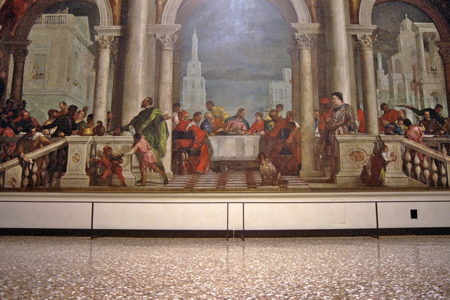 Accademia: Veronese, veizla í húsi Levi, Feneyjar