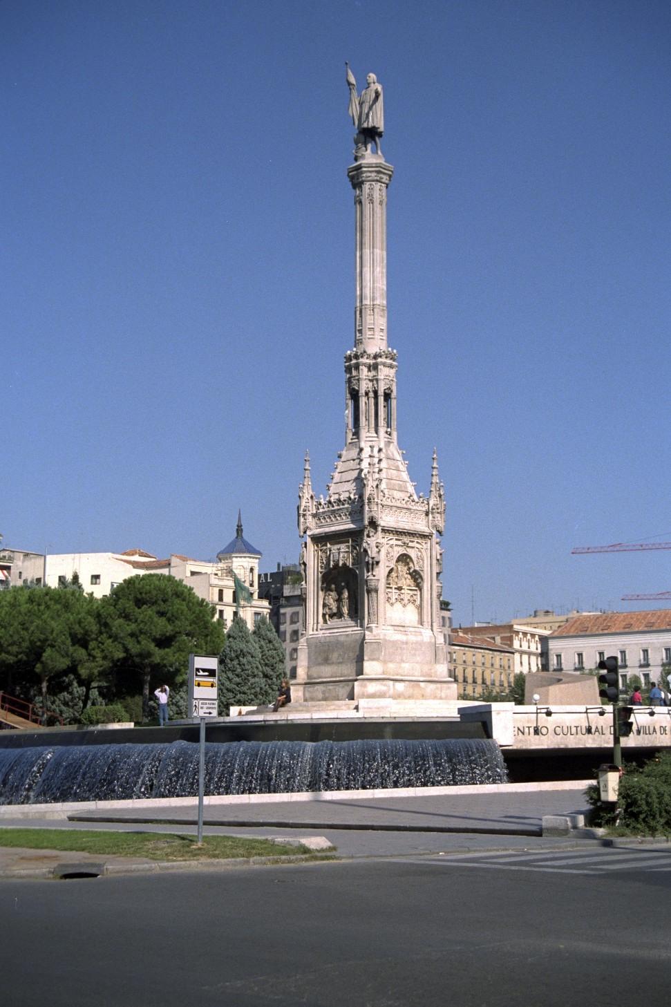 Cólon, Plaza de Cólon, Madrid