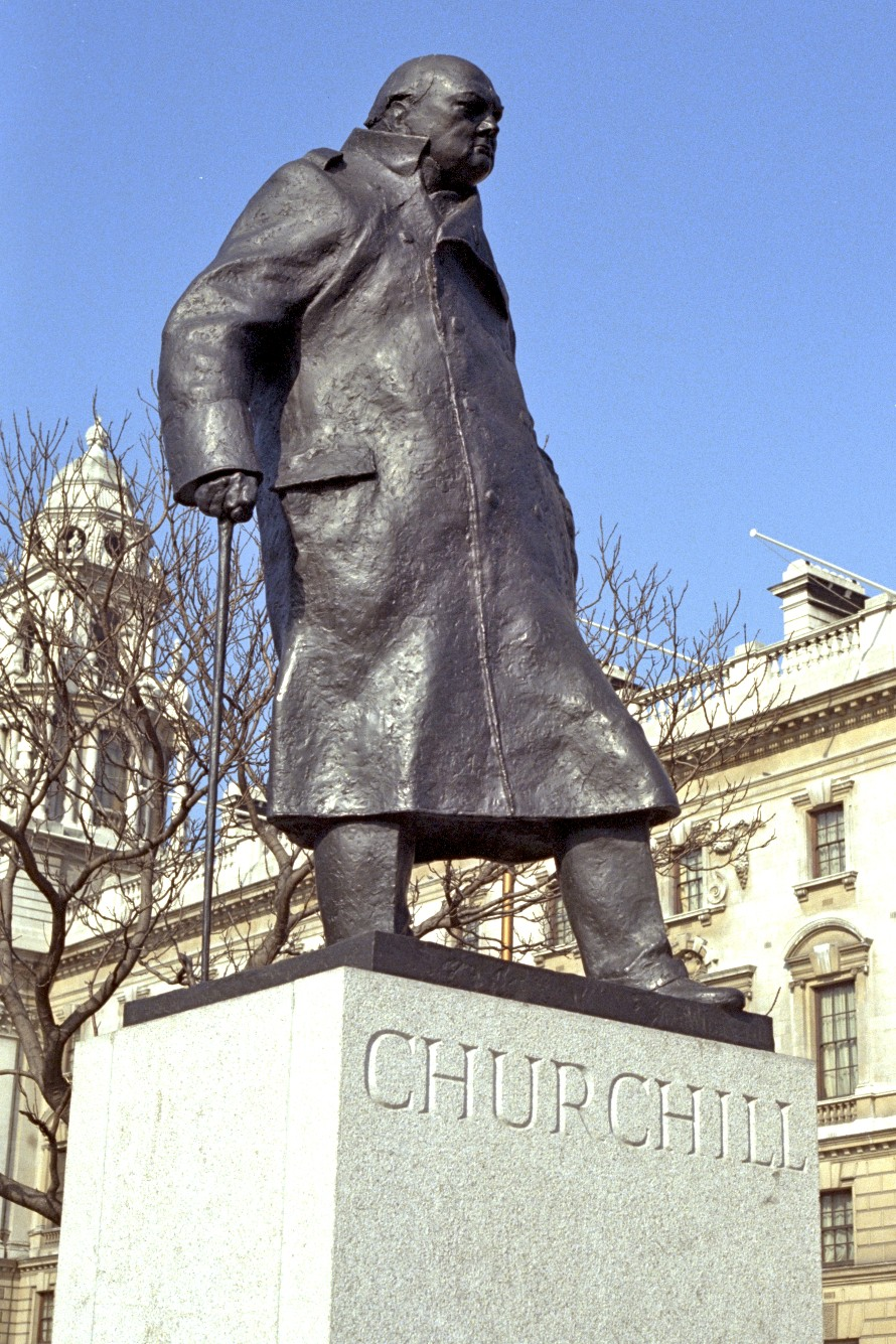 Churchill, Parliament Square, London