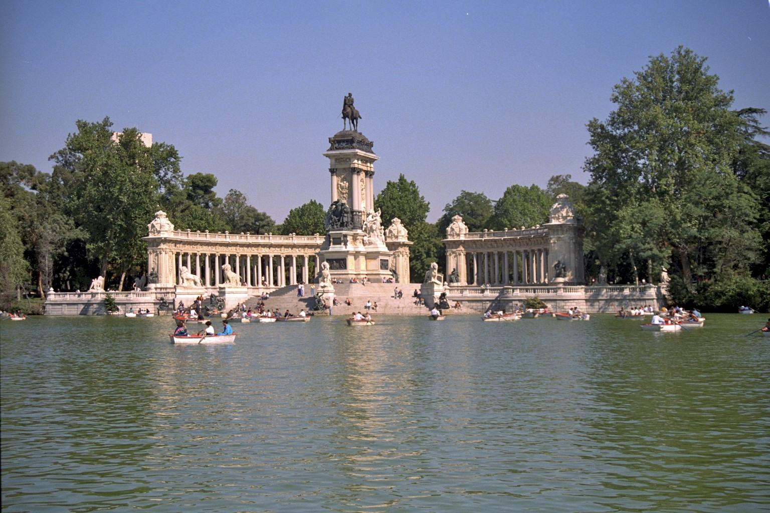 Estanque, Retiro, Madrid