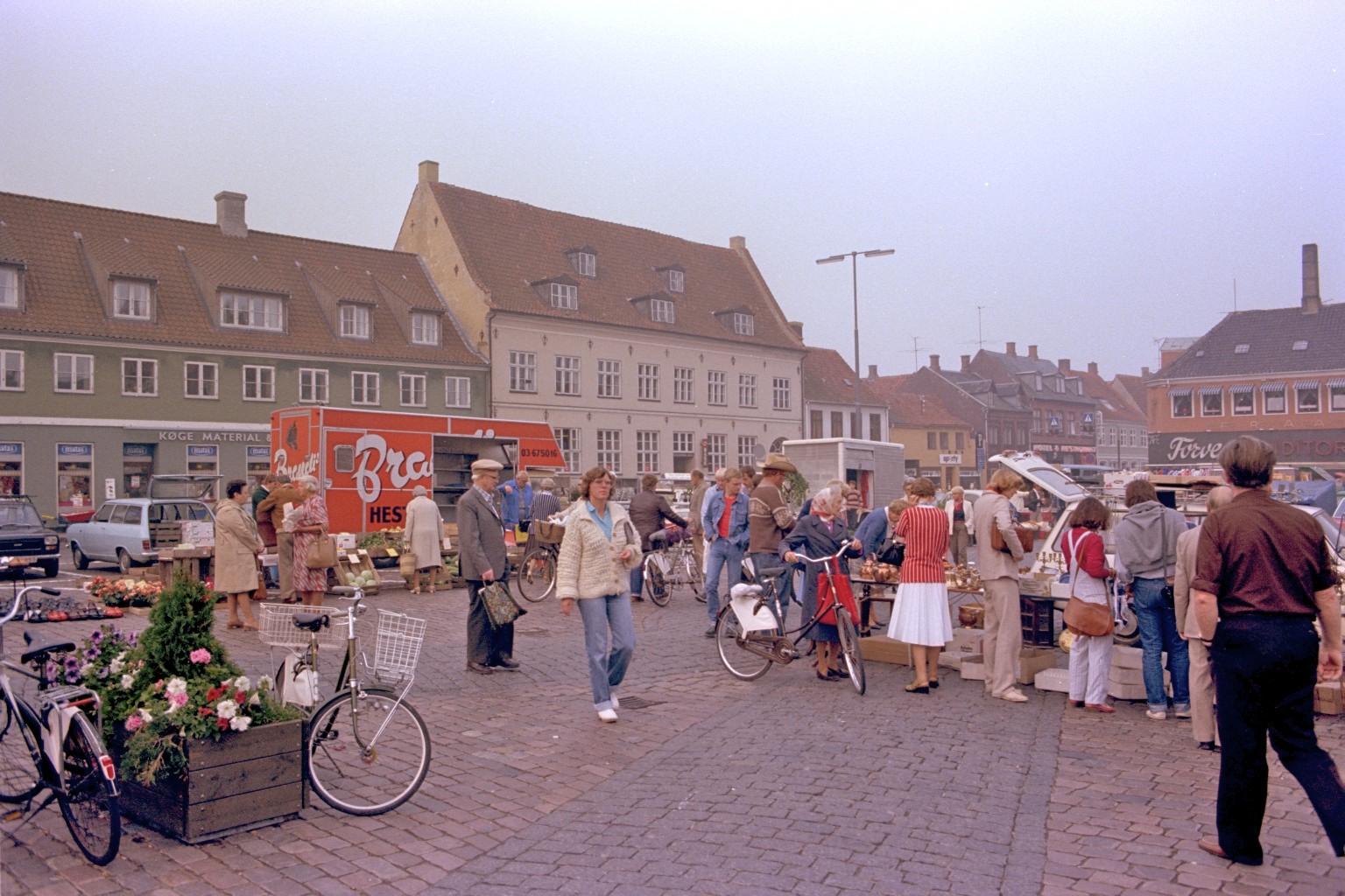 Køge marked, Sjælland