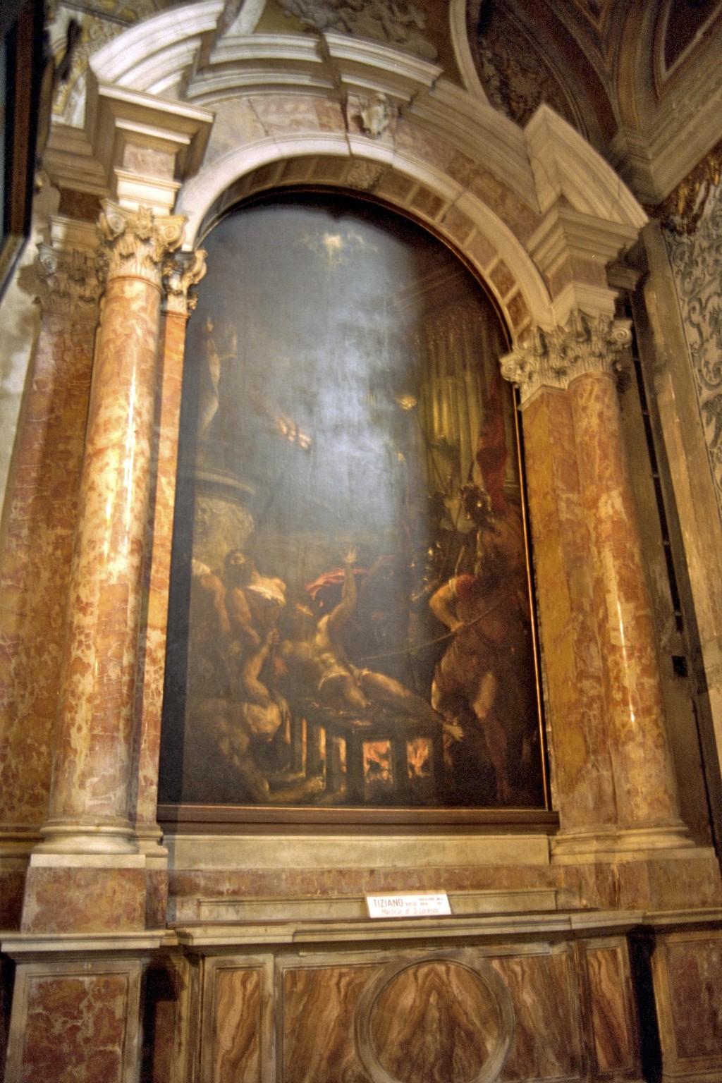 Tiziano, Gesuiti, Feneyjar