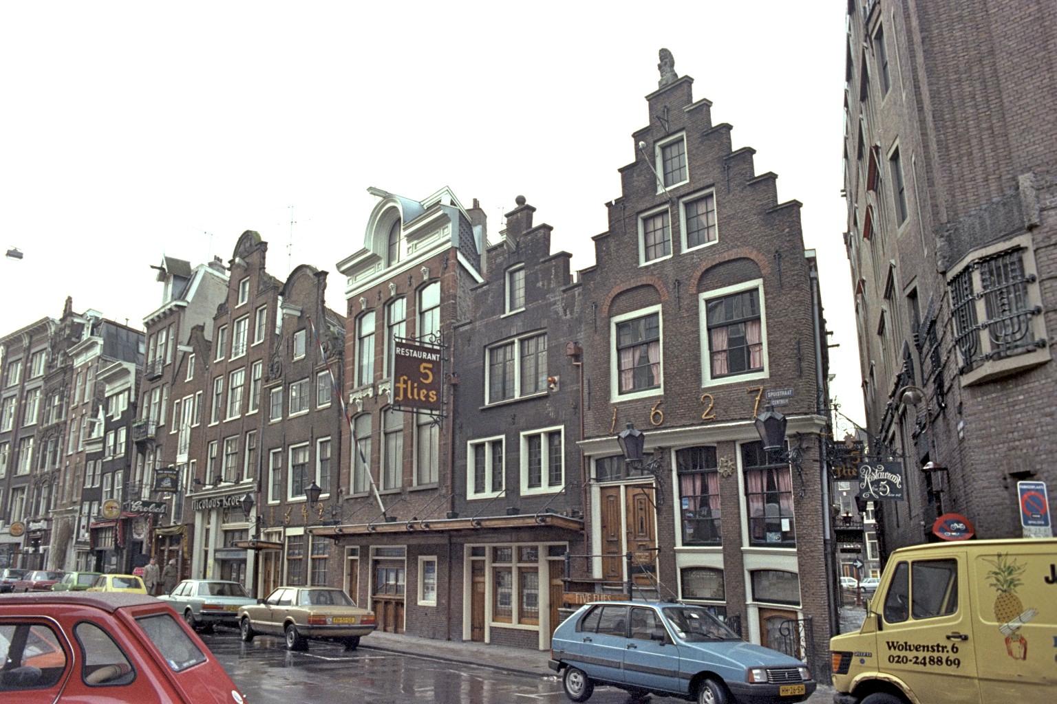 Vieff Vliegen, restaurant, Amsterdam