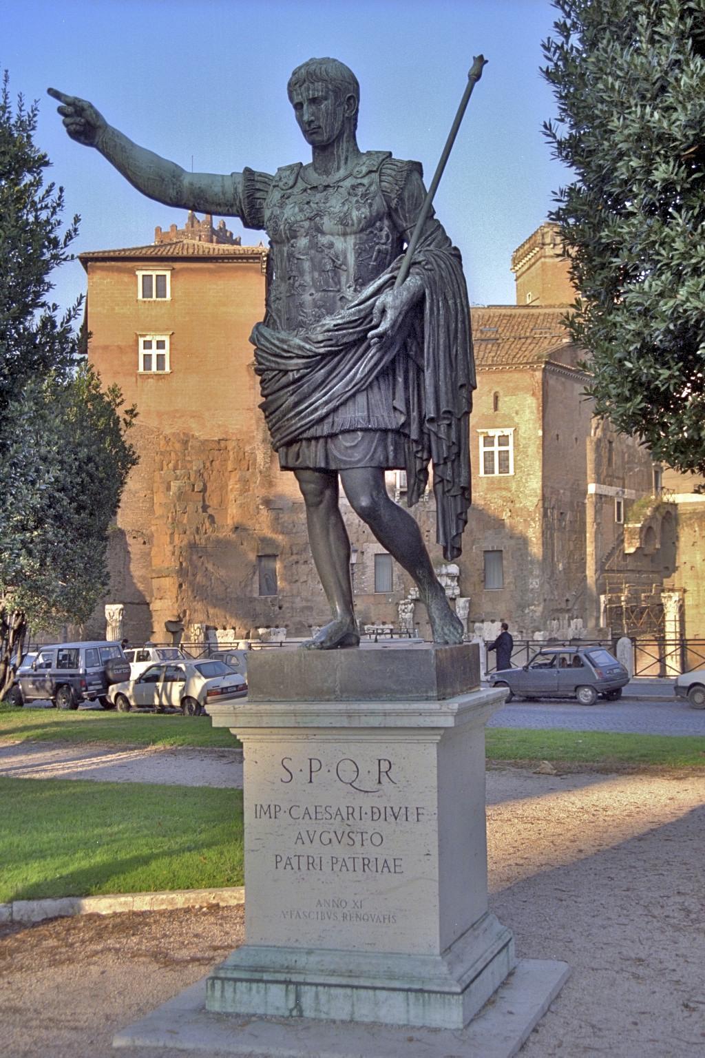 Augustus, Roma