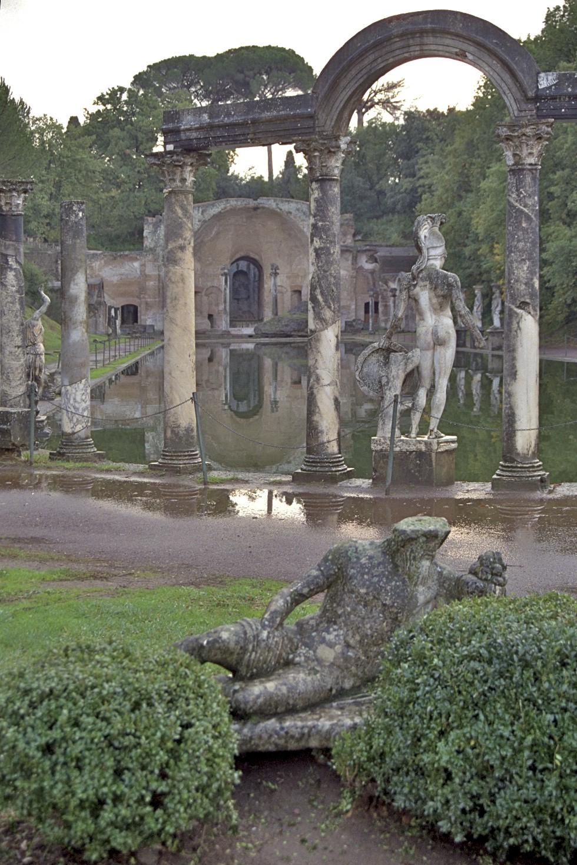 Canopus, Villa Adriana, Tivoli, Roma