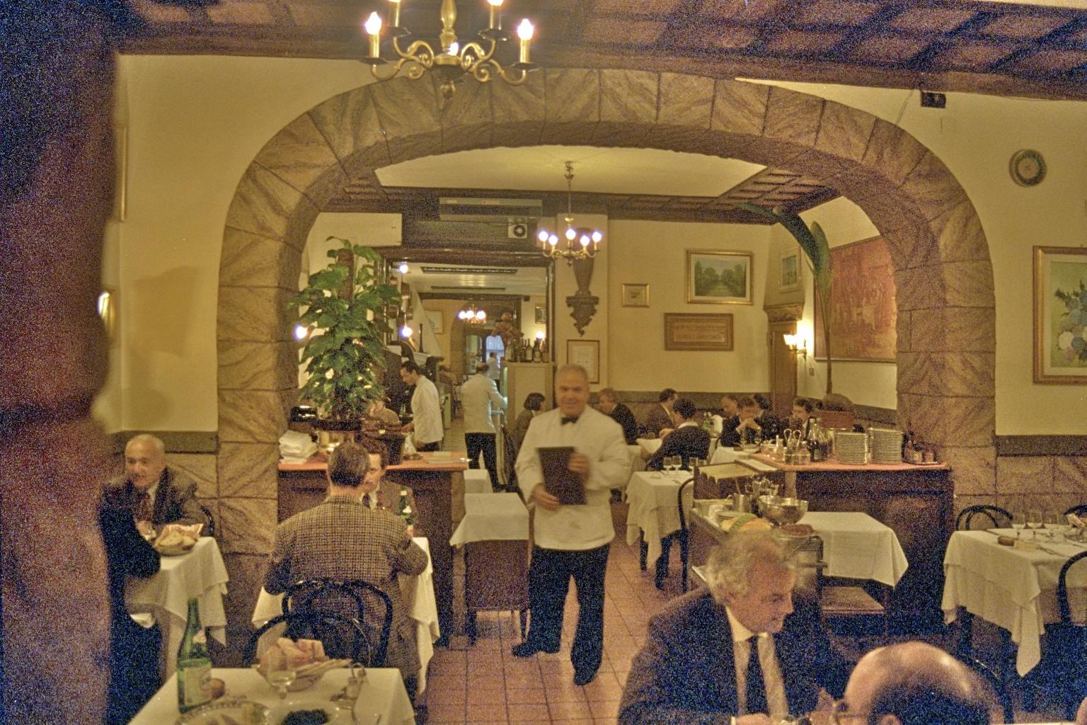 Cesarina, restaurant, Roma