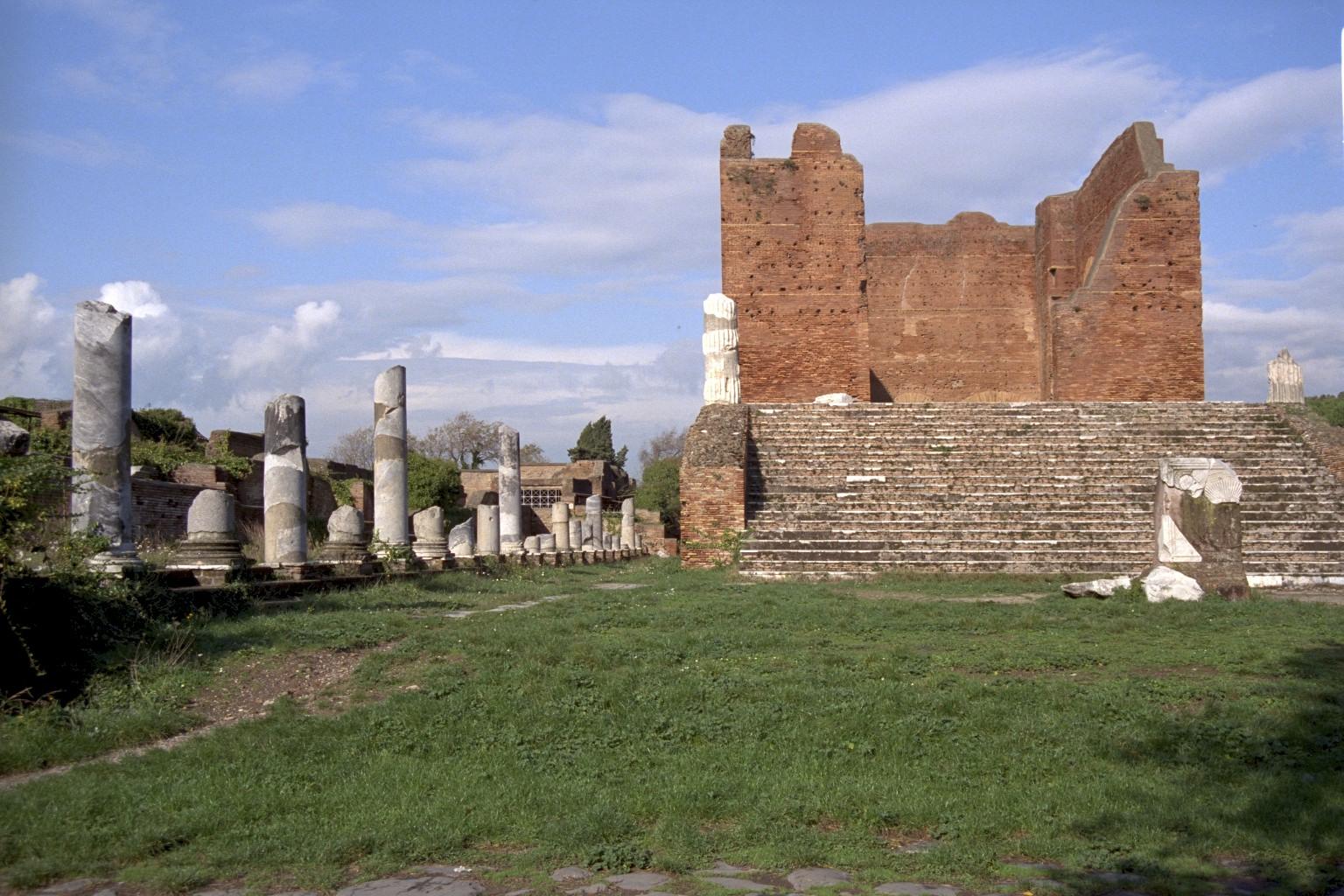Forum & Capitolum, Ostia, Roma
