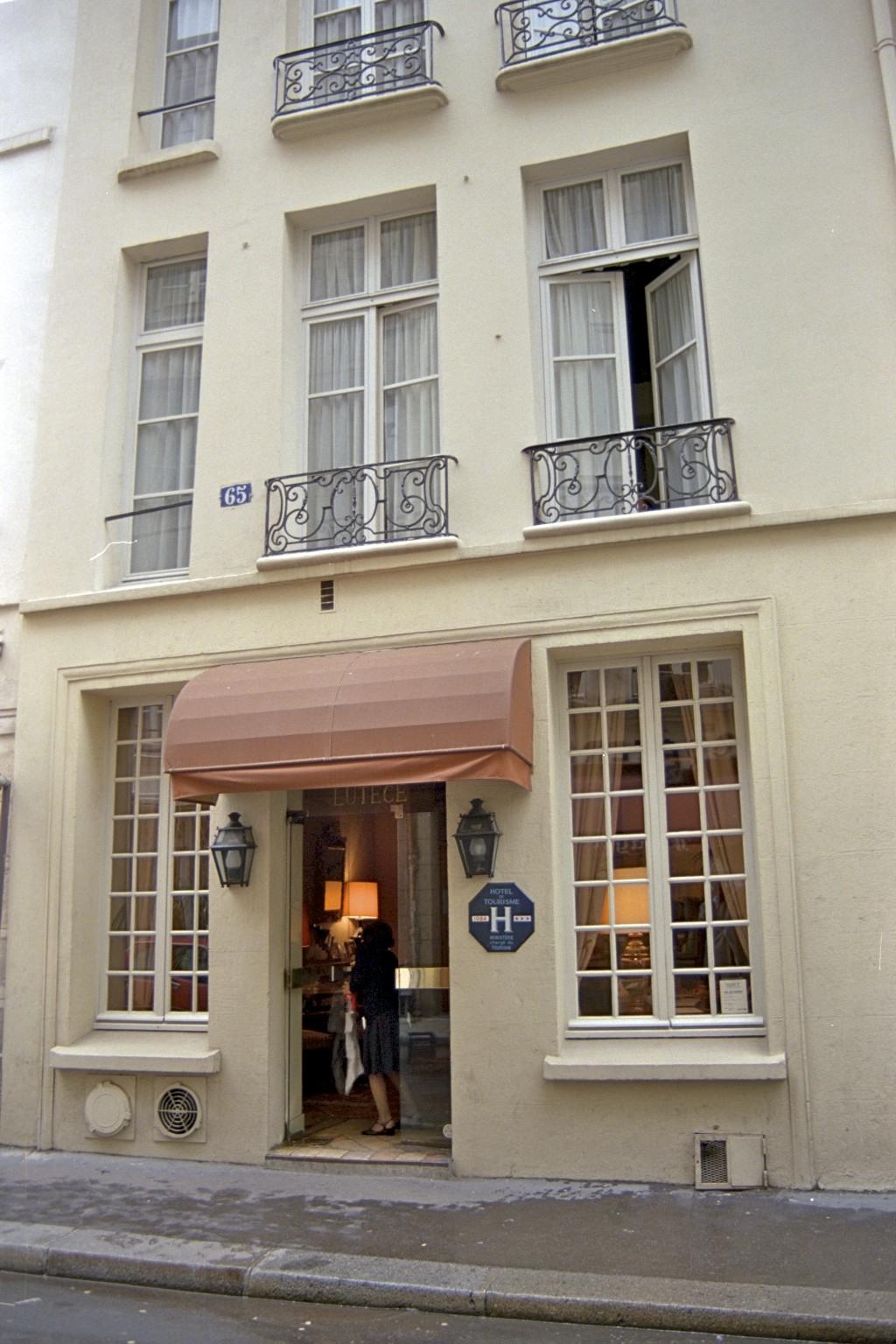 Lutece, hotel, Paris