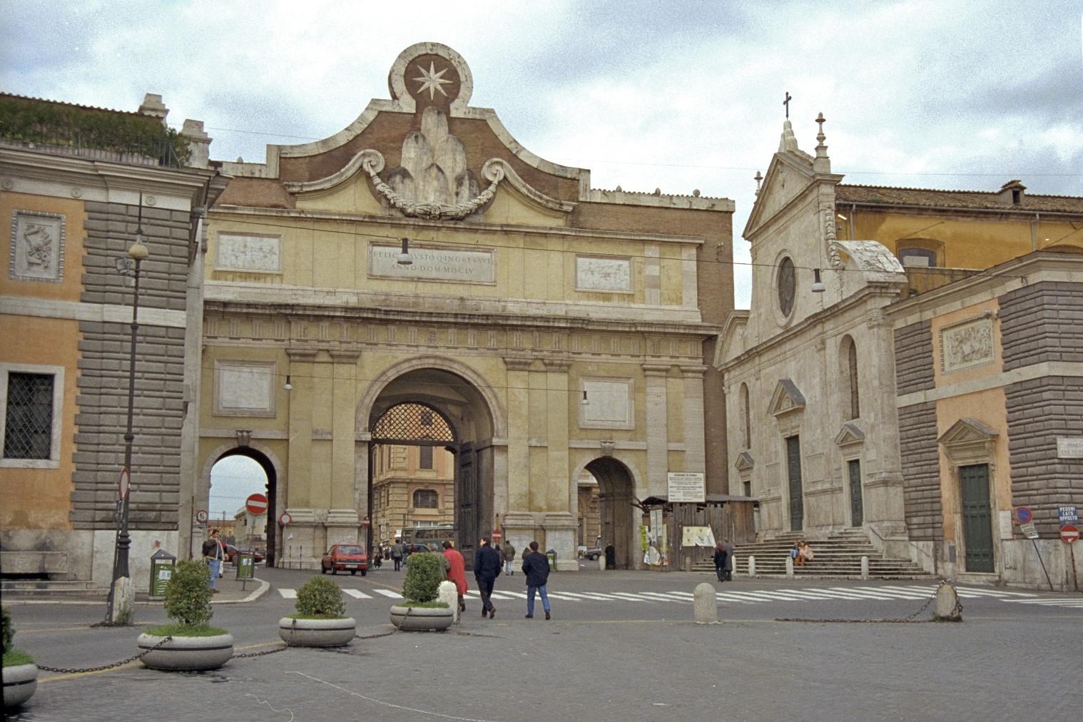 Porta del Popolo & Santa Maria del Popolo, Roma