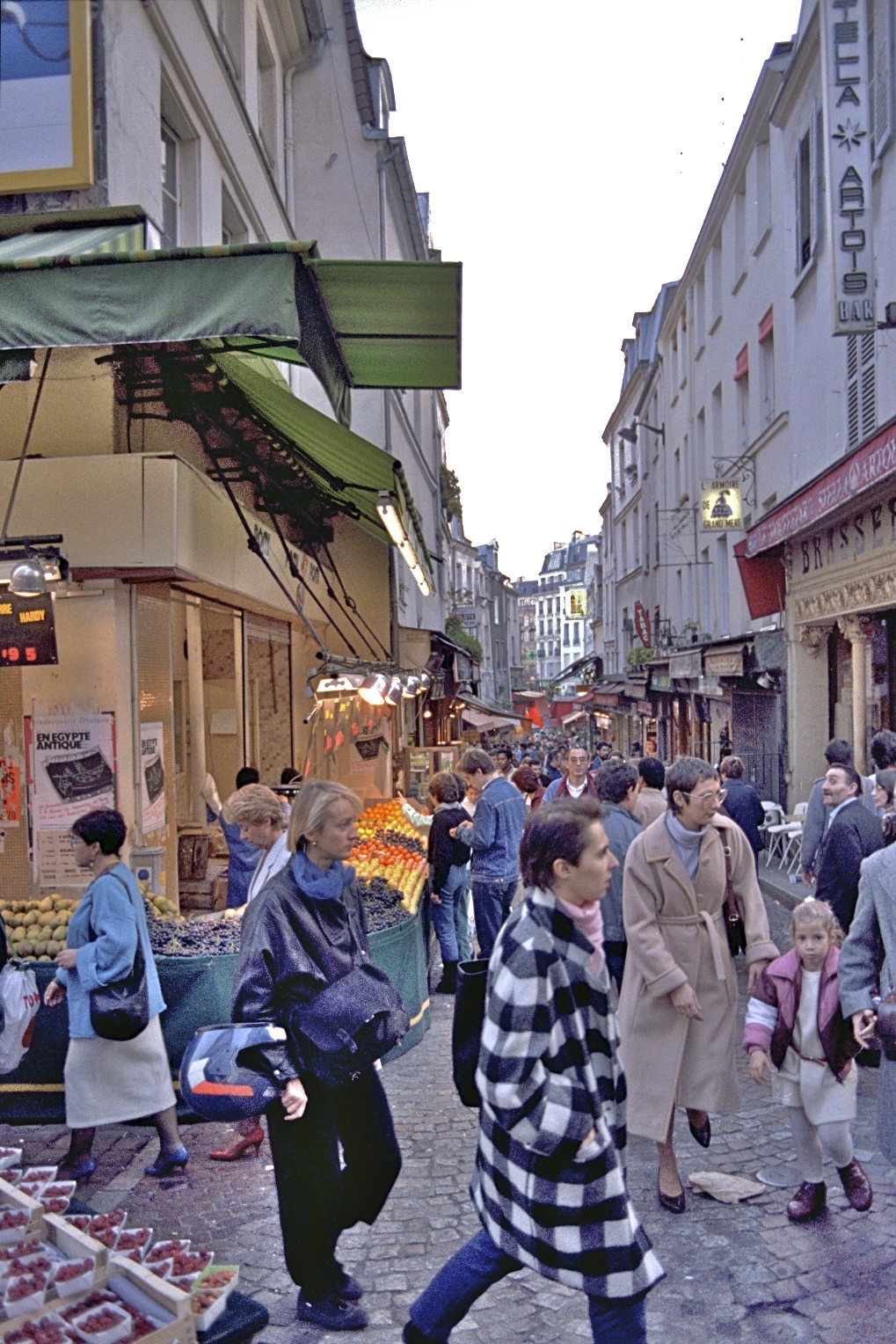 Rue Mouffetard, Paris
