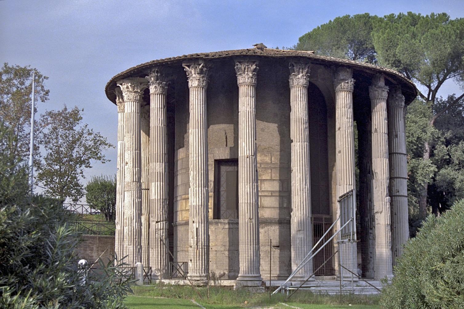 Tempio di Vesta, Roma 2