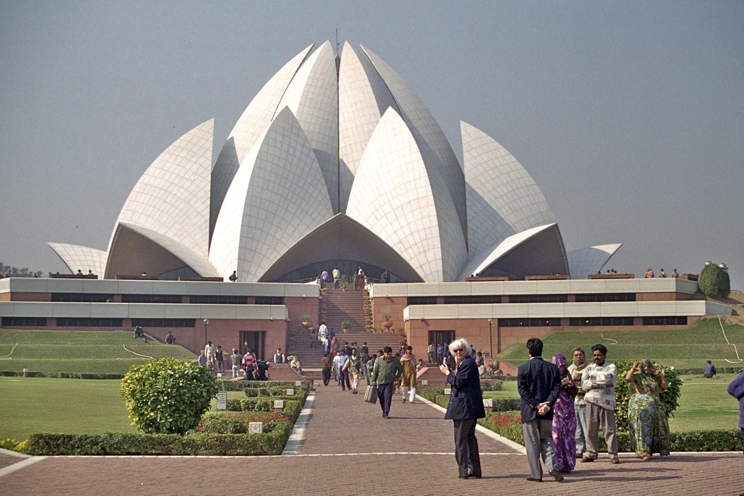 Bahai musterið, Delhi