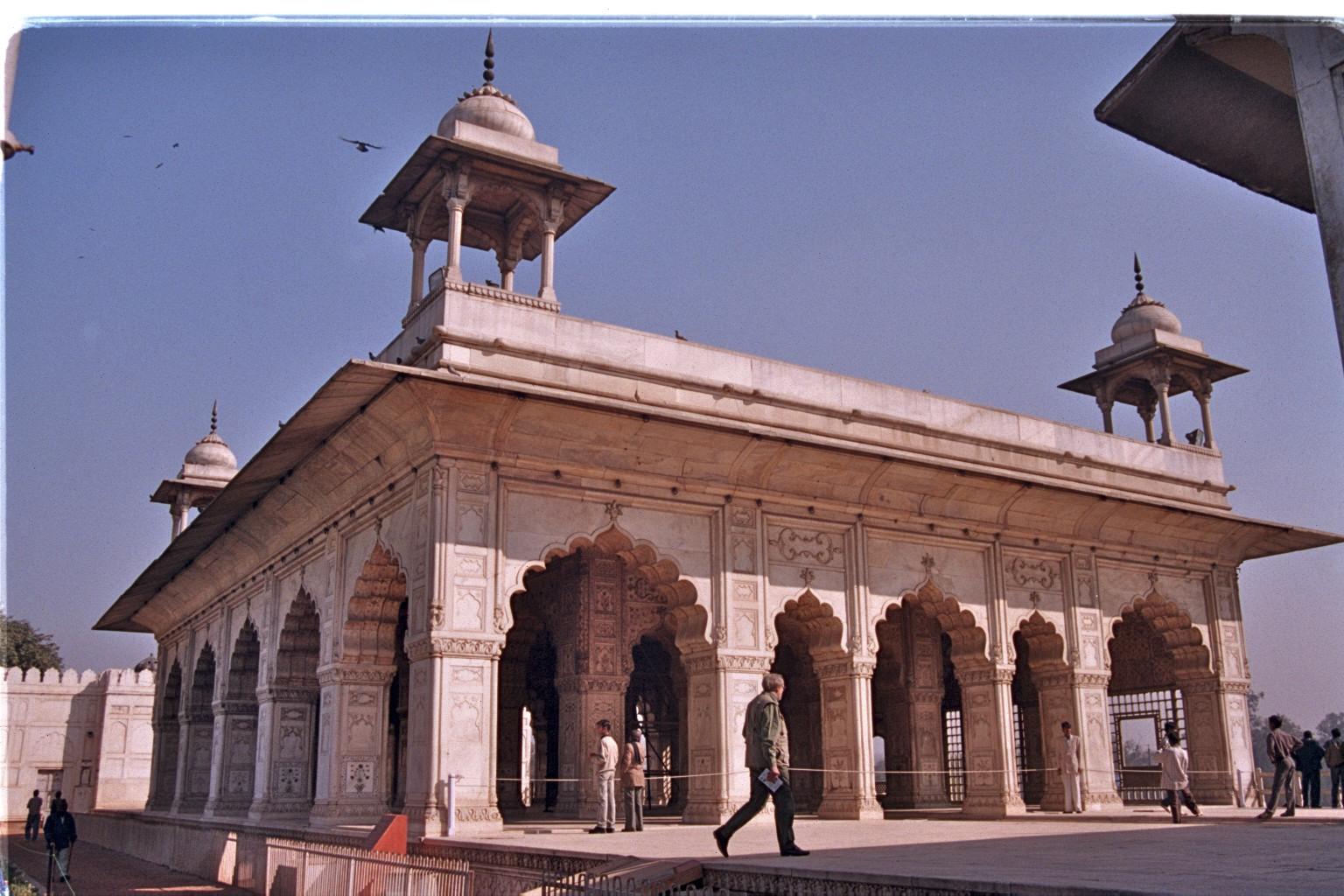 Delhi Red Fort Diwan I Kash