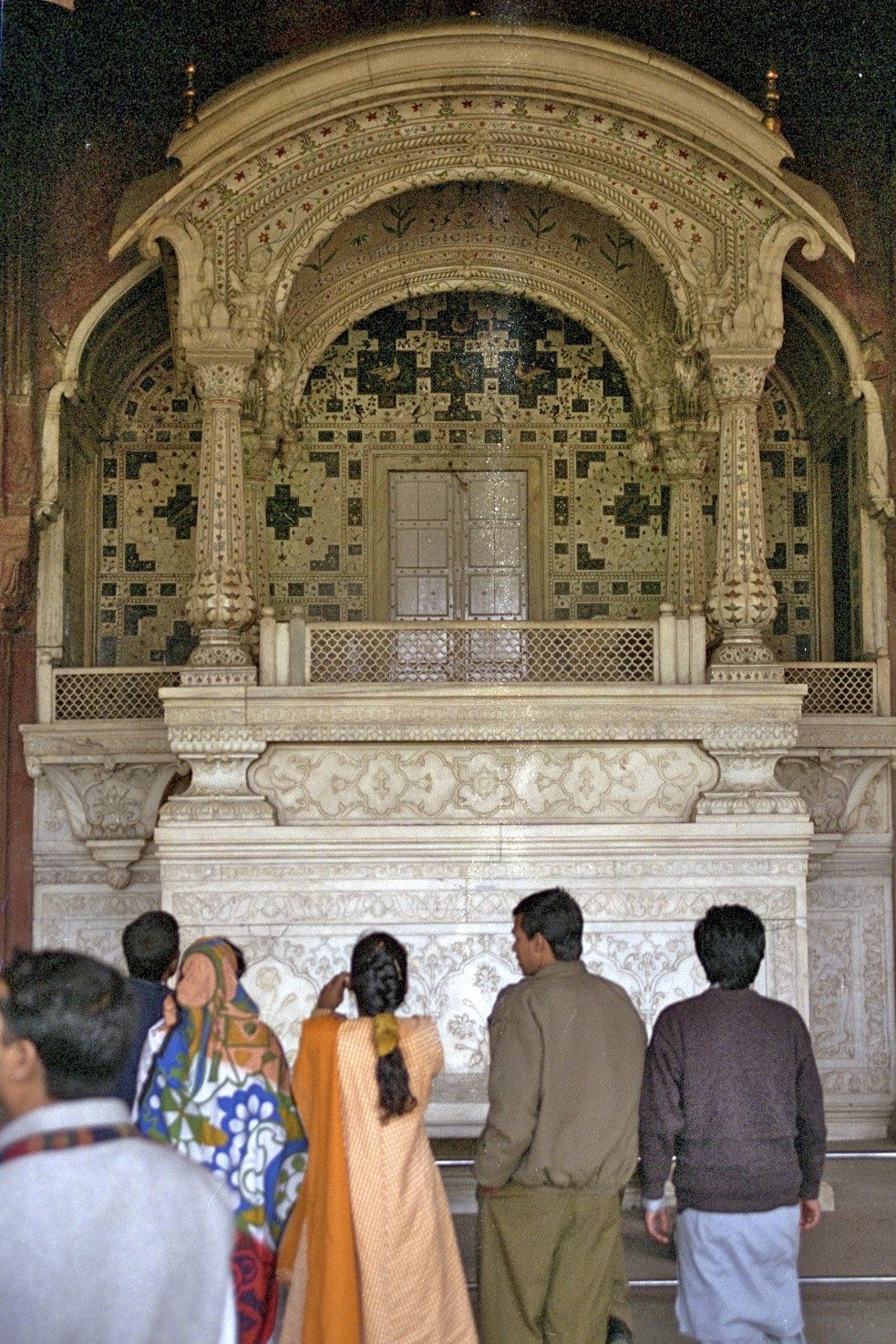 Hásæti mógúlsins, Red Fort, Delhi