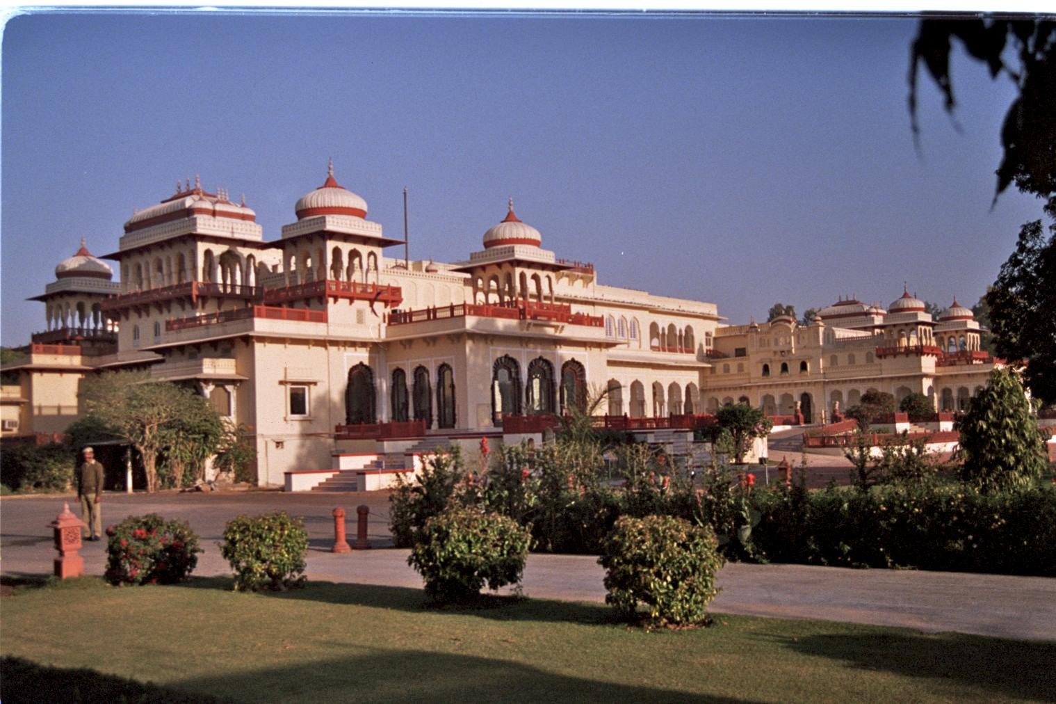 Jaipur Rambagh Palace hotel