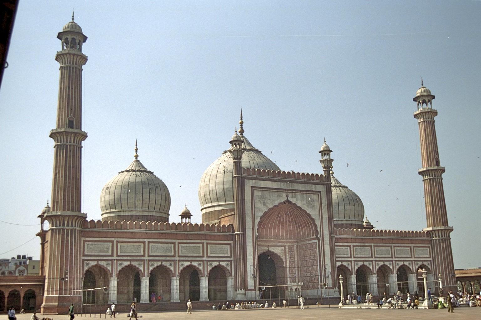Jama Masjid moska, Delhi 2